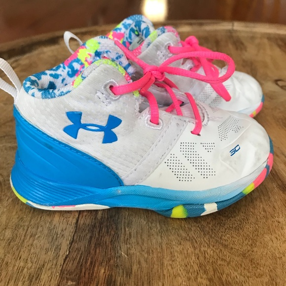 toddler girl under armour shoes